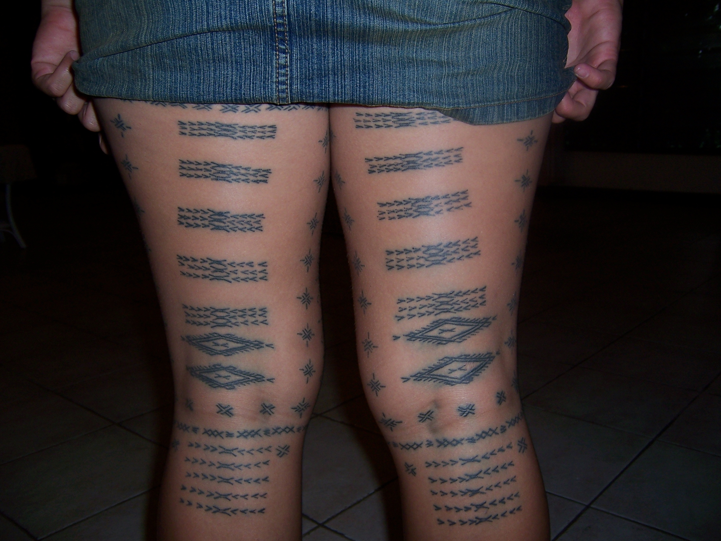 ... down upon by many people today samoan male tattoo samoan female tattoo