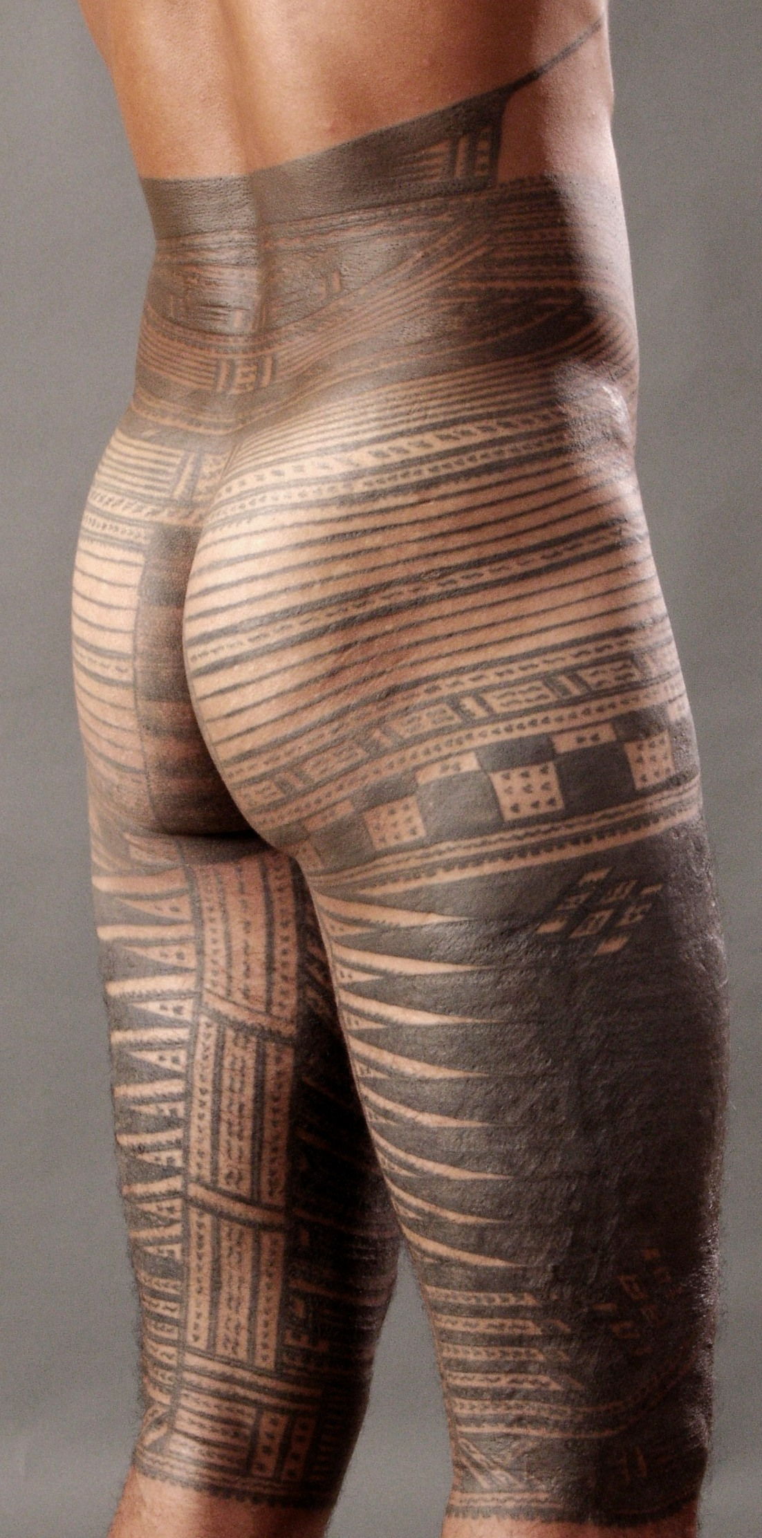 Samoan Male Tattoo: