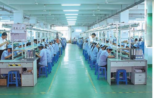 Chinese Electronic Factory Workers