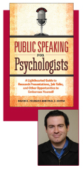 Public Speaking for Psychologists: David Feldman