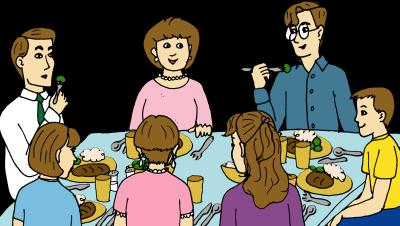 Gambar Orang Sedang Makan Bersama Shamstore